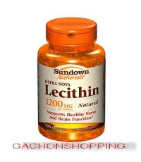 วิตามินบำรุงสมองและระบบประสาท ULTRA SOYA LECITHIN 1200 mg
