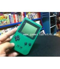 Gameboy Pocket Green +1 game ไม่มีกล่องคู่มือ
