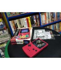 Gameboy Color Pink เกมบอยคัลเลอร์ สีชมพู