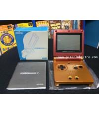 Gameboy Advance SP Metroid Orange Red Club Nintendo Limited
