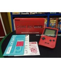 Gameboy Pocket Red เกมบอย พ๊อกเก็ตสีแดง
