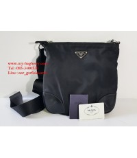 Prada z.58 Nylon Crossbody Bag ของแท้มือสอง สีดำสนิท