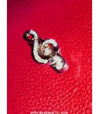 ตัวล๊อกเข็มขัดนักเรียน รูปกุญแจซอลประดับวิบวับ ราคา 59 บาท