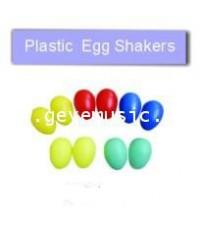 ของเล่นดนตรีเด็ก plastic Egg shakers หนึ่งคู่ รุ่น M01-4