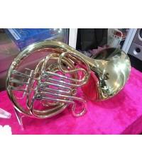 เฟรนช์ฮอน รุ่น 7031 WISDOM French Horns-Bb tone-3-key-Gold lacquer; Bore:12mm; Bell:290mm