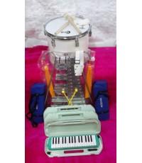 วงเมโลเดียน เครื่องดนตรีวงดุริยางค์ อนุบาล วงเมโลเดียน ประถม ใช้ได้  เมโลเดียนราคา เท่าไร่ 6พัน จ้า