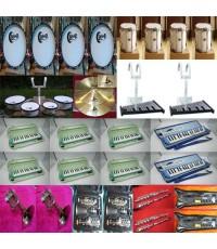 ร้านขายเครื่องดนตรีสากล ขายวงโยธวาทิต set promotion12หลักเกลียวยาว สำหรับ27-30คนเครื่องดนตรีราคาคุ้ม