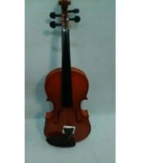 ไวโอลิน Violin Siservier ไวโอลิน ราคา ถูก G012 4/4 สีไม้ด้าน พร้อมกล่องและอุปกรณ์