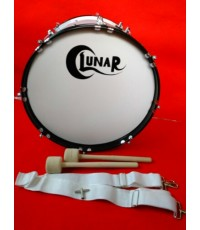 กลองใหญ่ BASS DRUM ยี่ห้อ LUNAR รุ่น GEMD4001   20 นิ้ว 8 หลัก เกรียวสั้น
