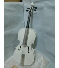 เชลโล่ Siserveir รุ่น FCL-100w White Color ขนาด 4/4