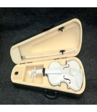 ไวโอลีน Siserveir Hand-crafted รุ่น สีขาว ขนาด 4/4 เสียงยอดเยี่ยม