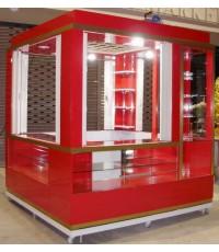 เคาน์เตอร์ขายของ ตู้ขายของ ตู้ขายอาหาร มีประตูปิด