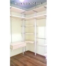Walk in Closet Set A+B+C สี Maple