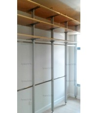 Walk In Closet - I Shape Melamine สี Maple