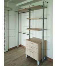 Walk in Closet - I Shape Melamine สี ELM