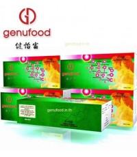 เอนไซม์เจนิฟู้ด Genufood เอนไซม์บำบัด เจนิฟู้ด 1กล่องขนาด60 ซอง  3100 บาท