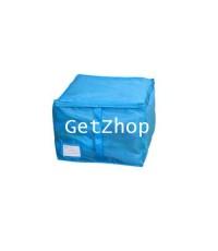 GetZhop กล่องเก็บของอเนกประสงค์ Size S - สีฟ้า