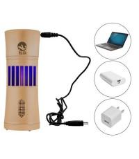 GetZhop เครื่องดักยุง เสียบ USB ขนาดกระทัดรัด รุ่น KF-10 - (สีทอง)