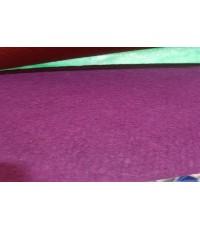 พรมอัดเรียบ สีม่วง  กว้าง 1.5 เมตร ถ้าซื้อพรม ต้องร้านพรมจีอายคาร์เป็ท มีวิธีปูพรมที่ง่าย