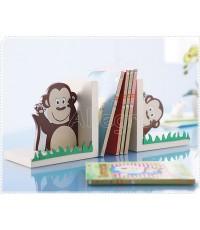 ที่กั้นหนังสือ ชุดลิงจ๊ะเอ๋