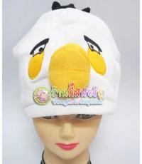 หมวกแฟนซี The Chubby white Bird