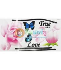 สติกเกอร์ติดฝาผนัง DIY ลาย True love (HPD073)