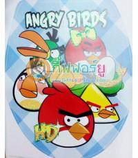 สติกเกอร์ติดฝาสุขภัณฑ์ Angry bird