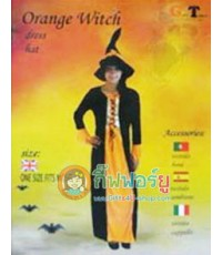 ชุดแฟนซี Orange witch (ผู้ใหญ่)