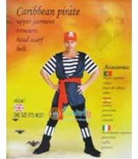 ชุดแฟนซี Caribbean pirate (ผู้ใหญ่)