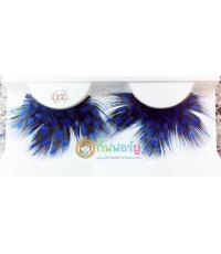 ขนตาแฟนซี ลายจุด-สีน้ำเงิน (22)