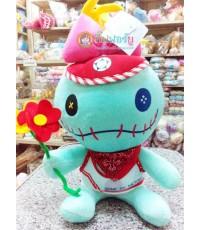 ตุ๊กตาผ้า Scrump ถือดอกไม้ (12 นิ้ว)