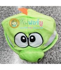 หมวกแฟนซี หัวไดโนเสาร์ (สีเขียว)