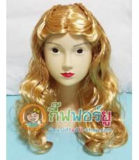 1 อัน วิกซินเดอเรล่า วิกเจ้าหญิงดีสนีย์ วิกผมแฟนซี วิกคอสเพล Cinderella wig