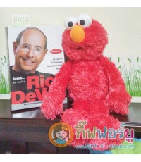 ตุ๊กตาผ้า Sesame Street (สีแดง)