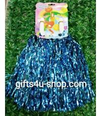 พู่เชียร์กีฬา-ฟอยด์กลาง (สีฟ้า) (ราคา/1 คู่)
