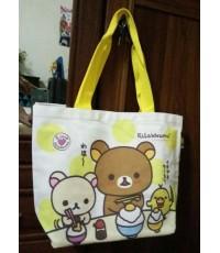 กระเป๋าผ้า Rilakkuma limited edition (สินค้าพรีเมี่ยม Krungsri)