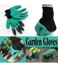 ถุงมือ ช่วยงานสวน ขุดดิน พรวนดิน อเนกประสงค์ (Garden Genie Gloves)