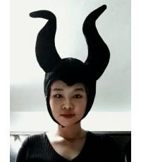 หมวกแฟนซี แม่มดใจร้าย (สีดำ)