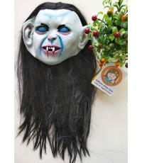 1 อัน หน้ากากผีผู้หญิงผมยาว ผีดิบ แวมไพร์ หน้ากากฮาโลวีน ปาร์ตี้ แฟนซี women mask movie halloween