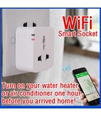 [ส่งฟรี] ขาย ปลั๊กไฟ ควบคุมด้วยมือถือ iPhone , Android ผ่าน 3G/WIFI - WIFI Smart Plug