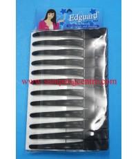 กิ๊บปากเป็ด Edguard no:12045 - สีดำ