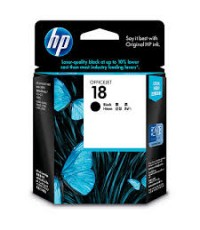HP 18 Black Original Ink (C4936A)