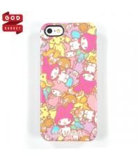 Gourmandise Sanrio Case iPhone 5 S My Melody with Friend เคสไอโฟน 5s มายเมโลดี้ กับ เพื่อนๆ