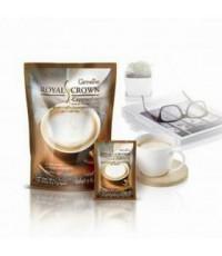กาแฟคาปูชิโน (กาแฟผสมฟองนม) สูตรปราศจากน้ำตาล แพค 10 ซอง