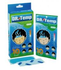 Dr.Temp Aroma / Mental แผ่นเจลลดไข้ กลิ่นเมนทัล
