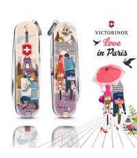 มีดพับ Victorinox รุ่น Classic SD Limited Edition 2018, The City of Love