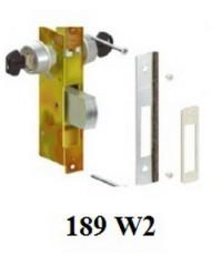 189 W2 ชุดล็อคบานประตู ไข 2 ทาง