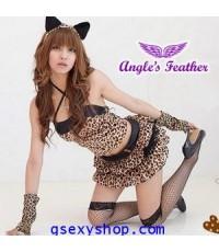 ชุดแฟนซี เสือสาว เซ็กซี่ มีเสน่ห์ เร้าใจ ไม่รวมถุงน่อง
