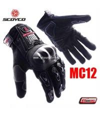 ถุงมือ MC 12 by Scoyco