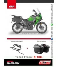 GIVI Side rack for Versys 300X เหล็กติดกล่องข้าง